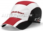 Бейсболка Audi Unisex Cap, DTM, white/black/red, артикул 3131400100