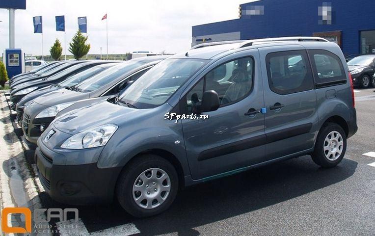 Багажник, рейлинги для Peugeot Partner Tepee 2007-2012|Peugeot Partner Tepee 2012-2017 Can Otomotiv
