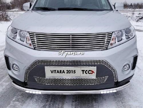 Решетка передняя декоративная для Suzuki Vitara 2014-2017