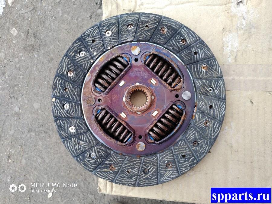 диск сцепления, новый, дефект ржавчина