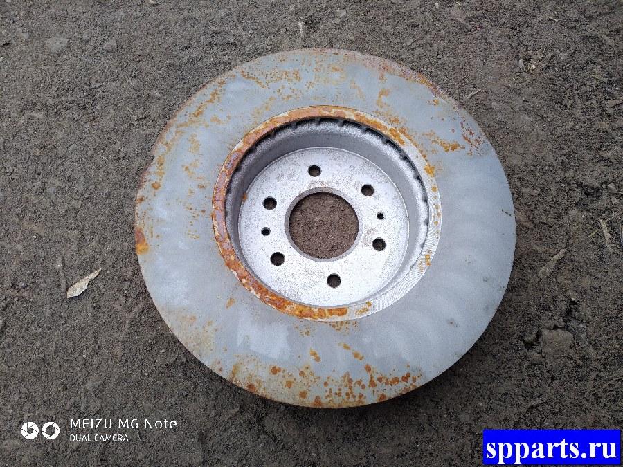 диск тормозной, новый, дефект ржавчина