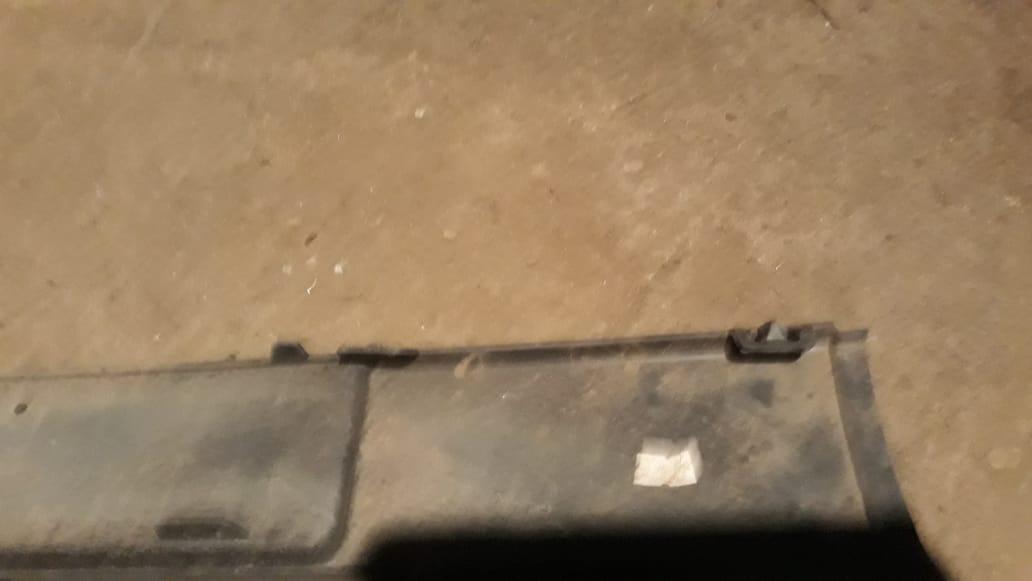 бампер, новый, дефект сломано крепление, царапины