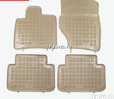 Коврики для Audi Q7 2006-2009. Rezaw-Plast ST 49-00213