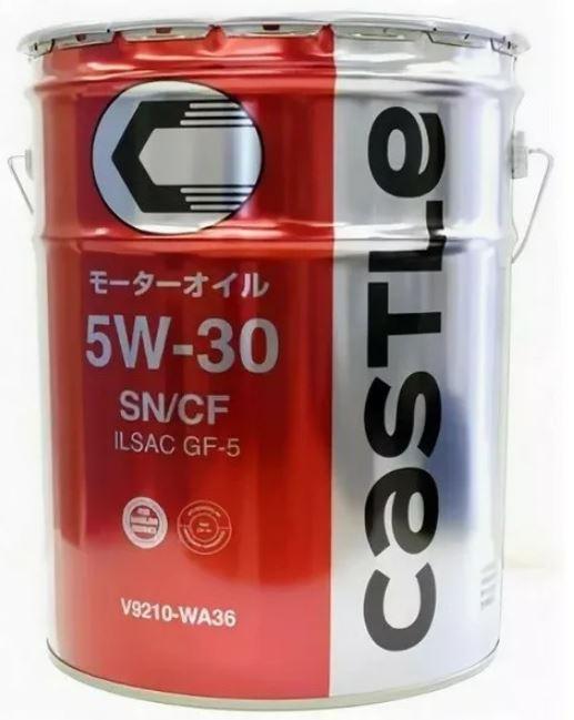 Мотороное масло оригинальное синтетическое Toyota (castle) Motor Oil SN_CF 5W30 20 литров (Япония)