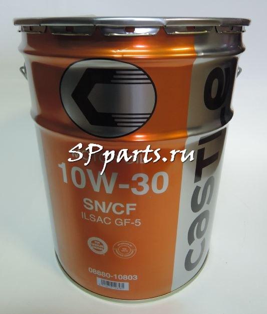 Оригинальное моторное масло 0888010803TOYOTA Motor Oil SN/CF 10W30 20л Япония