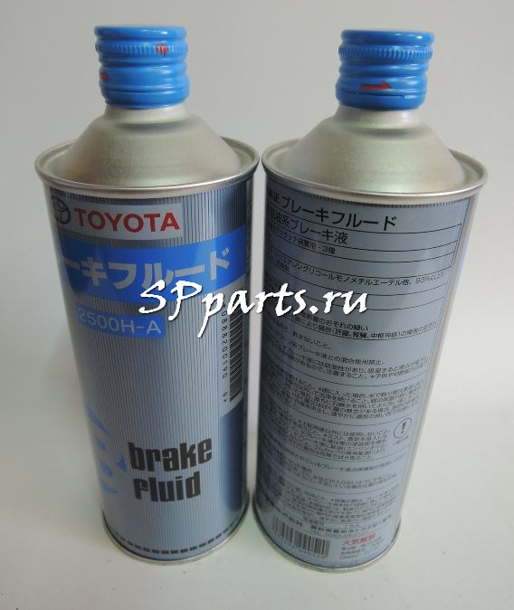 Тормозная жидкость Brake fluid оригинальная Toyota DOT 3 0,5 литра Япония.