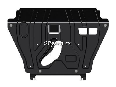 Защита Двигателя, КПП для Lexus NX 2014-2018 Toyota
